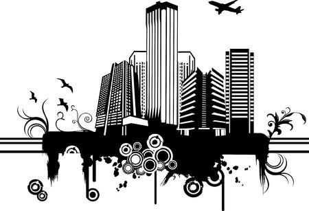 vector city illustration Illustration