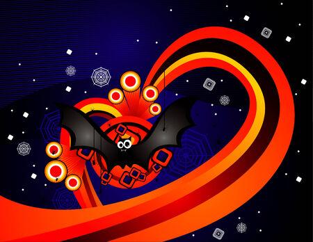 vector halloween illustration Vector