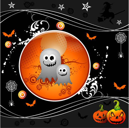 vector halloween illustration Stock Vector - 3691533