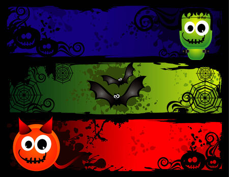 vector halloween illustration Stock Vector - 3691527