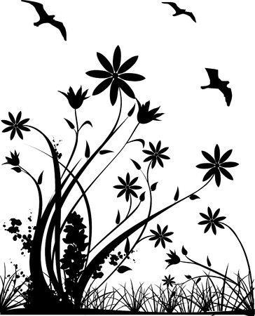 vector nature illustration Vector
