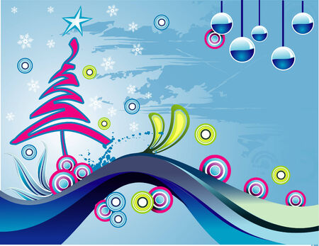 vector christmas illustration Vector