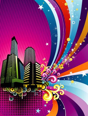 illustration vector: vector city illustration Illustration