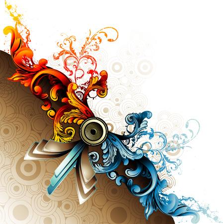 vector background illustration Vector