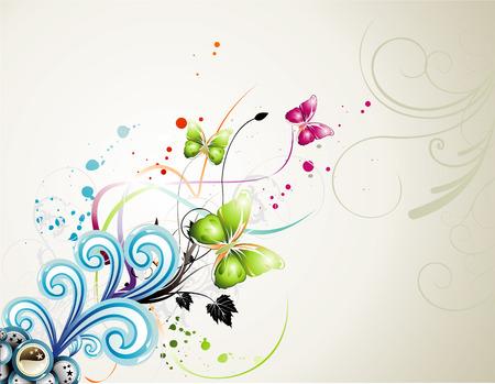 vector flower illustration Vector