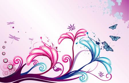 Vektor Blume illustration