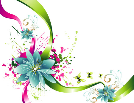 vector flower illustration Vector