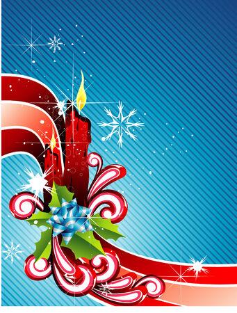 joyous: vector christmas illustration