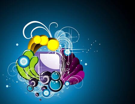 vector background illustration Stock Vector - 6185010