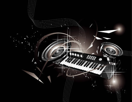 music illustration Illustration