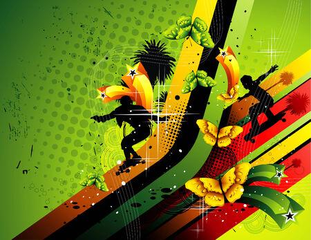 dangerously: vector sport illustration