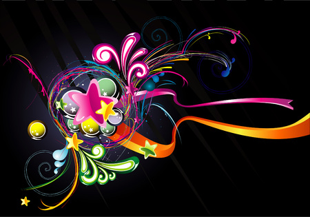 multicolour: abstract background illustration