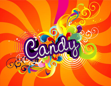 colourful candy: vector candy illustration