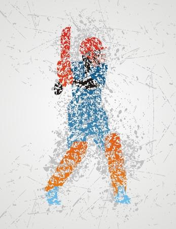cricketer: cricket