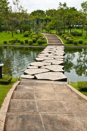 Stepping Stone Pathway photo