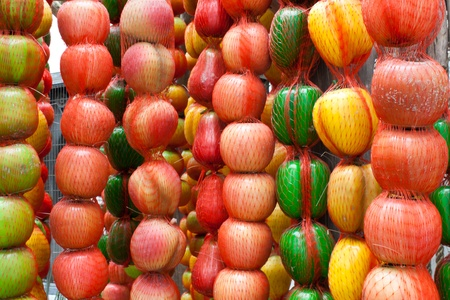 bogus: Artificial Fruit Stock Photo