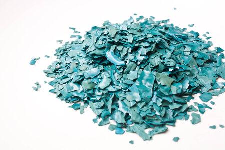 The Texture of Dried Spirulina Flake photo