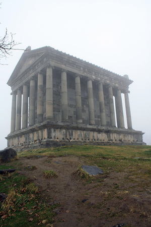 Garni Pagan Temple, the hellenistic temple in Republic of Armenia