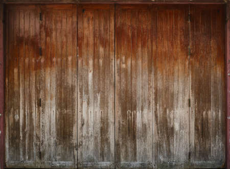 Antique vintage wooden Folding doors texture.