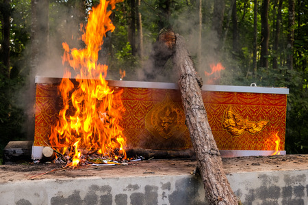 outdoor cremation