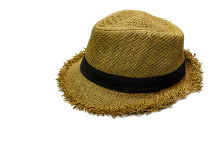 dressy: hat on isolate background Stock Photo
