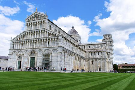 The Cathedral of Santa Maria Assunta and the Tower of Pisa