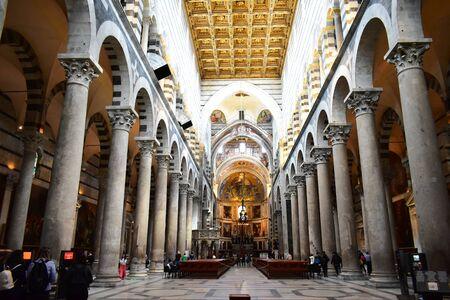 The interior of the Cathedral of Santa Maria Assunta