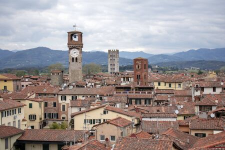The towers of Lucca