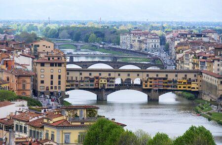 Ponte Vecchio in Florence 版權商用圖片 - 132122720
