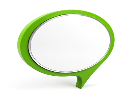 3d l bubble text. Imagens
