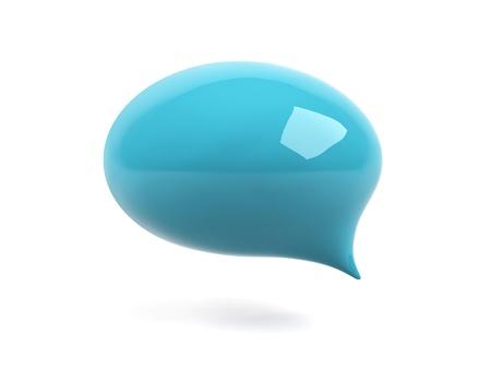 3d bubble text. Stock Photo