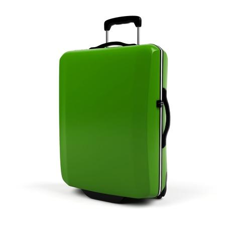 Suitcase isolated on a white background.  photo
