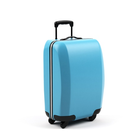 Suitcases isolated on a white background.  photo