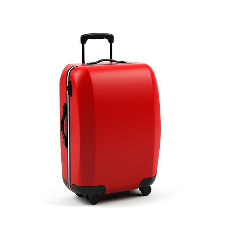 Suitcase isolated on a white background.  photo