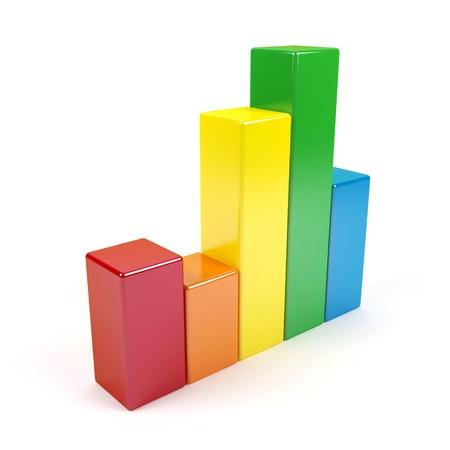 3d graph. Stock Photo - 15325646