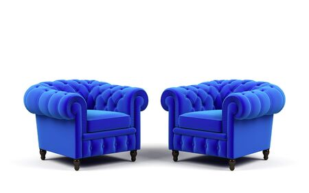 arm chair: Two armchairs.