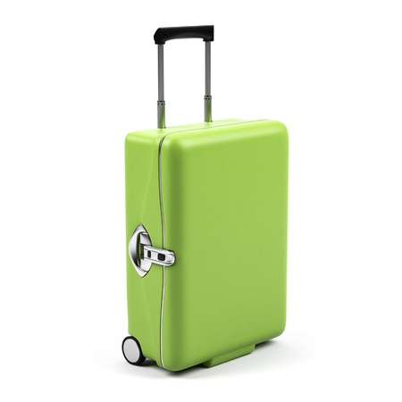 Suitcase isolated on a white background.