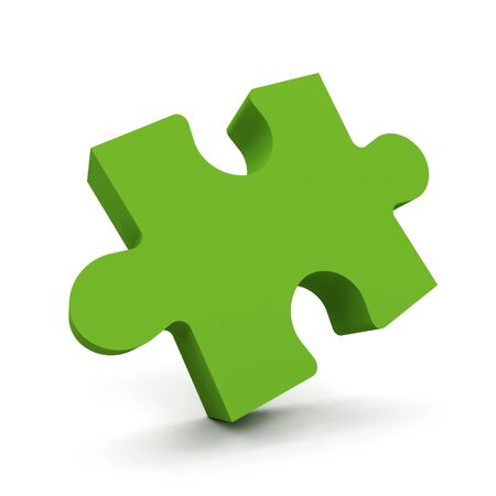 Puzzle  Conceptual 3d generated image Stock Photo - 15585438