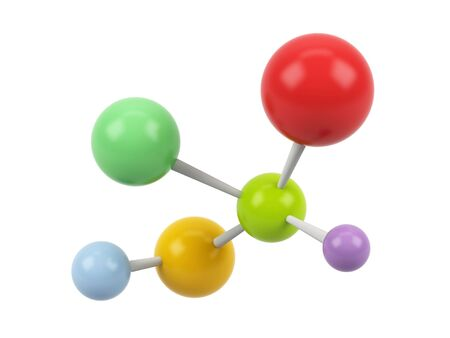 3d molecule Stock Photo - 15585352