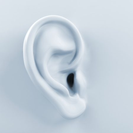 3d ear Stock Photo - 15829576