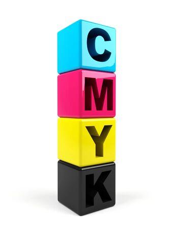 polygraphic: 3d cmyk