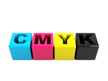 inkjet printer: 3d cmyk