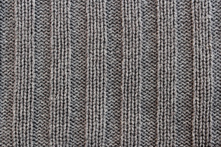 crocheted texture from a sweater made of wool