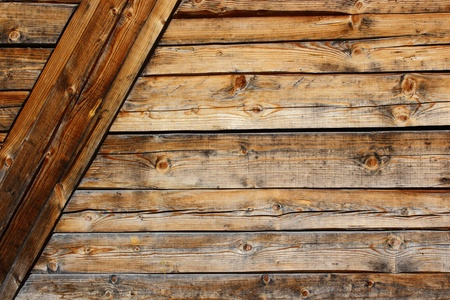 wooden wall texture at an old lodge Stock Photo - 13546186