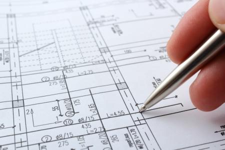 家を造るため構造プロジェクト 写真素材