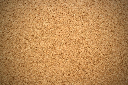 vignetting: closeup of textured cork with vignetting added
