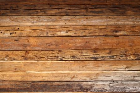 Madera con textura en una fachada de cabaña de montaña Foto de archivo - 17332337