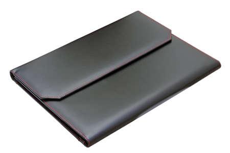 blotter: office item - isolated black blotter over white background