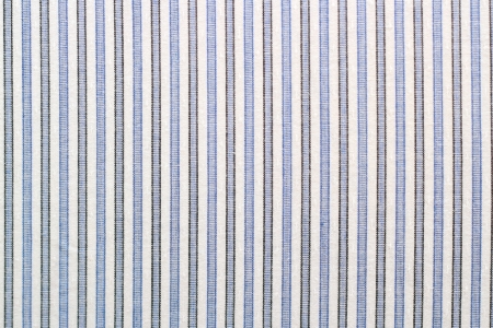 closeup of striped   blue and black   fabric - shirt material