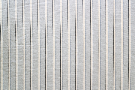 blue shirt fabric with parallel white lines  Stock Photo